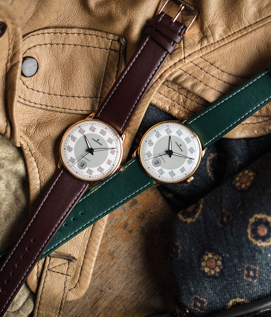 Junghans Meister Driver Automatic watches offer vintage autosports appeal.