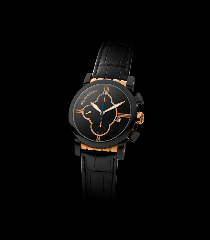 Dubey & Schaldenbrand Grand Shar Black Element watch