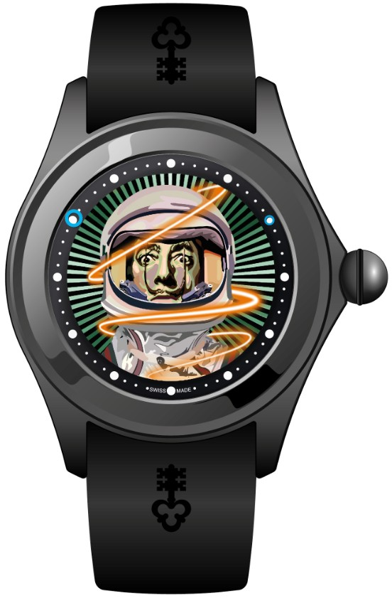 Corum Magical 47 Bubble Watch by Elisabetta Fantone
