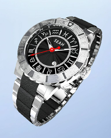 The Astronomer watch, new from Seah (R)