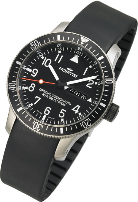 Fortis B-42 Official Cosmonauts Day Date watch