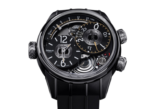 Breva Genie 02 Air watch created in a limited edition of 55 pieces.