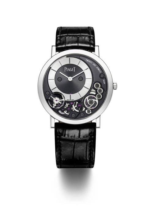 The Piaget Ultra-Thin Altiplano 900 P has a patent pending and offers revolutionary integrated case and movement parts.