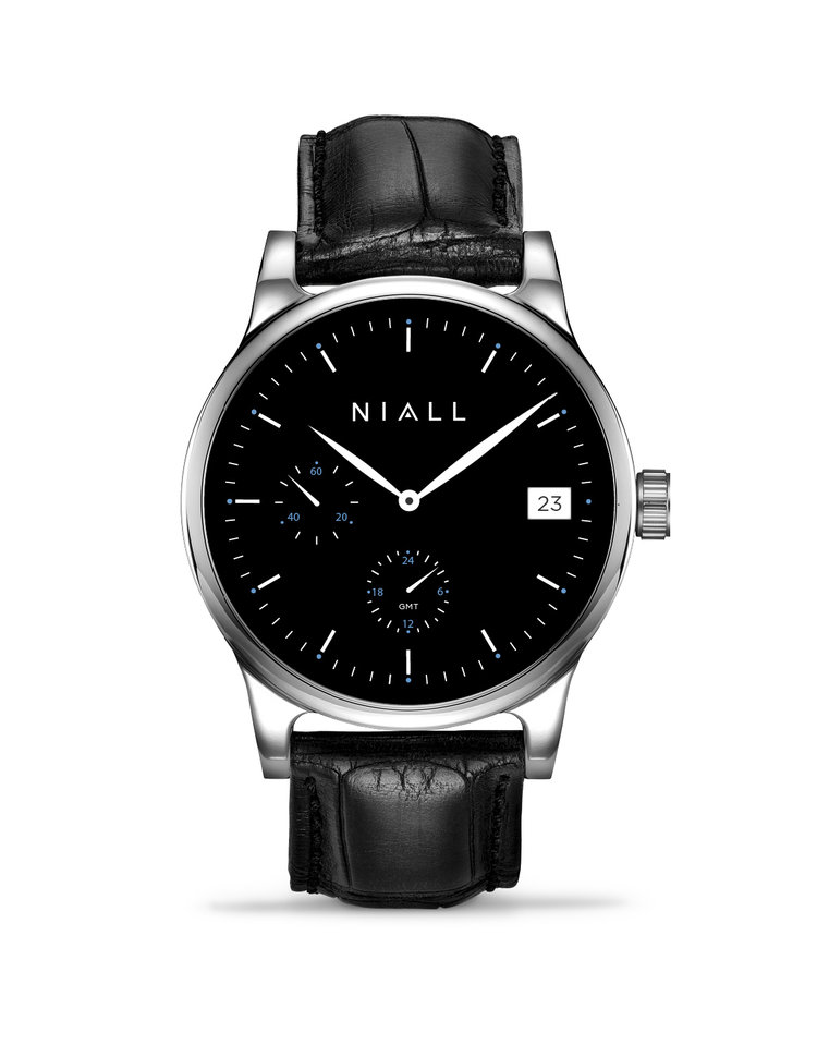 Niall GMT Noir watch as seen in the Fast 8 movie on the wrist of Kurt Russell.