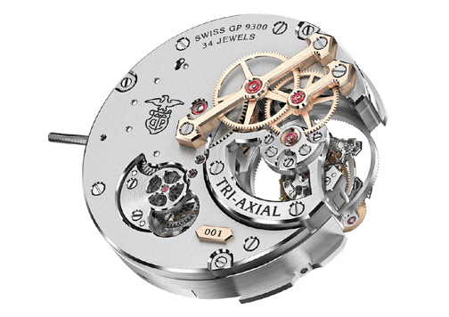 The new Girard-Perregaux in-house-made caliber