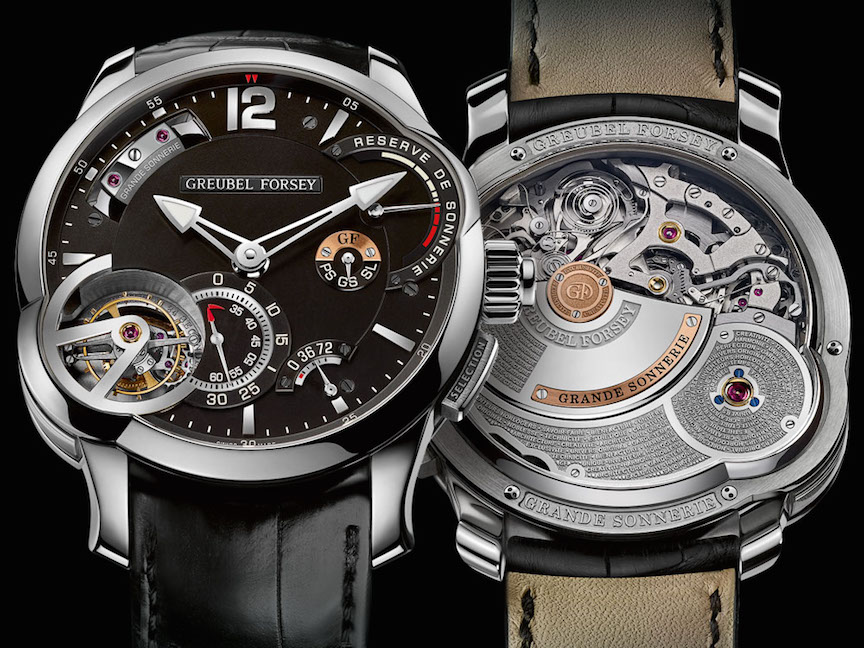 Greubel-Forsey Grande Sonnerie, million-dollar watches of 2017.