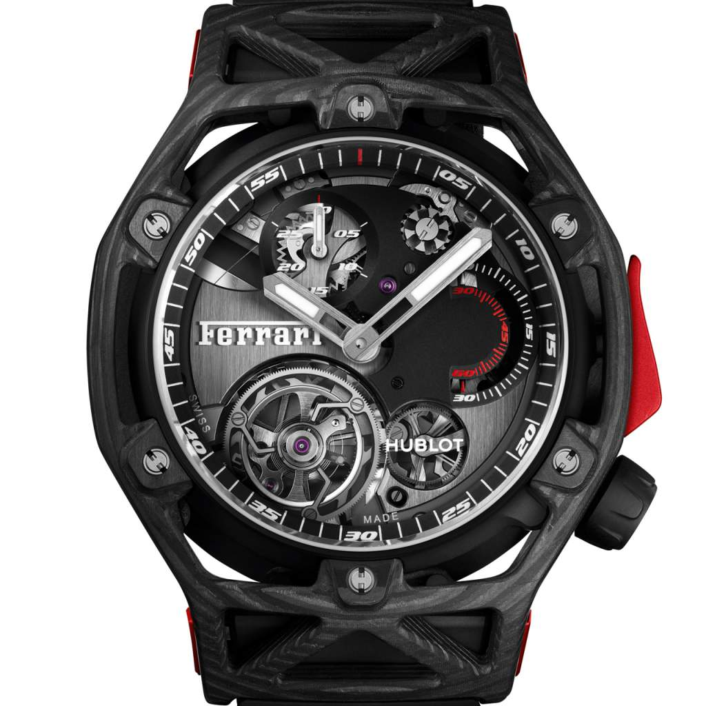 6 Top Sport Watches of 2017:HUBLOT TECHFRAME FERRARI TOURBILLON CHRONOGRAPH