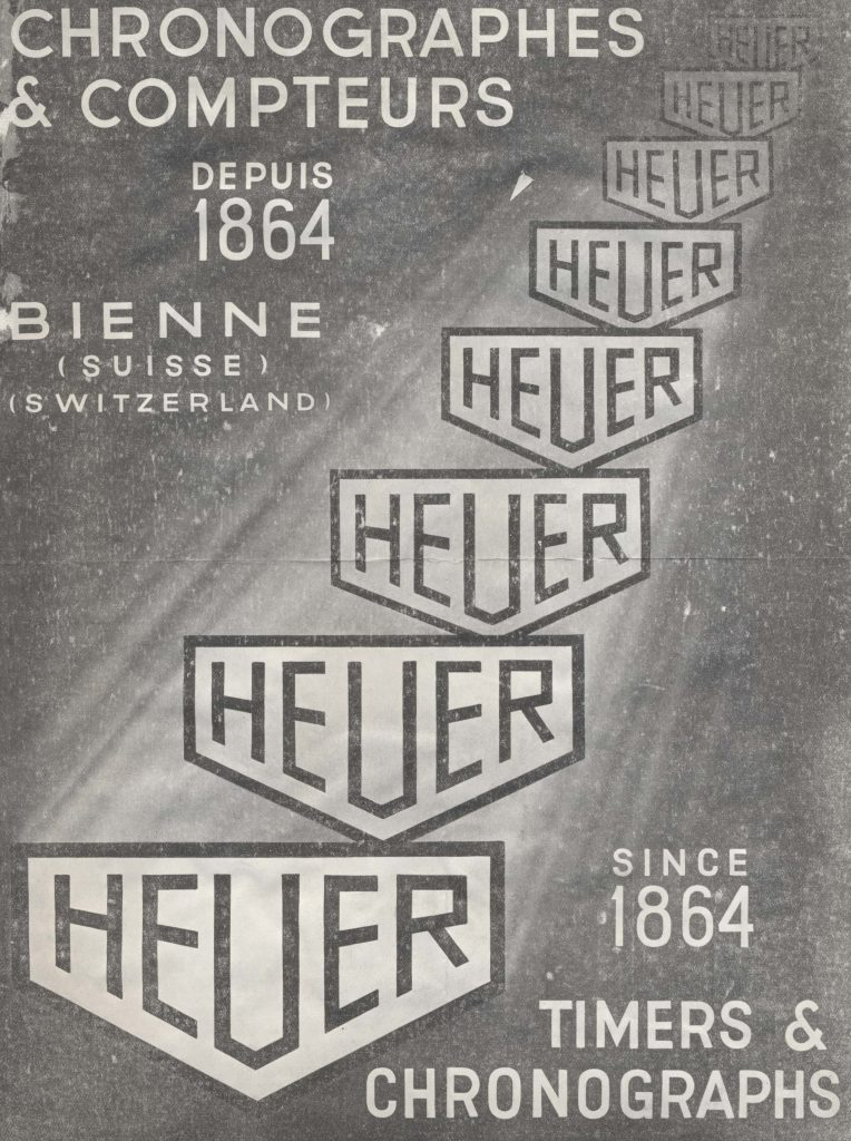Heuer ads from 1936.