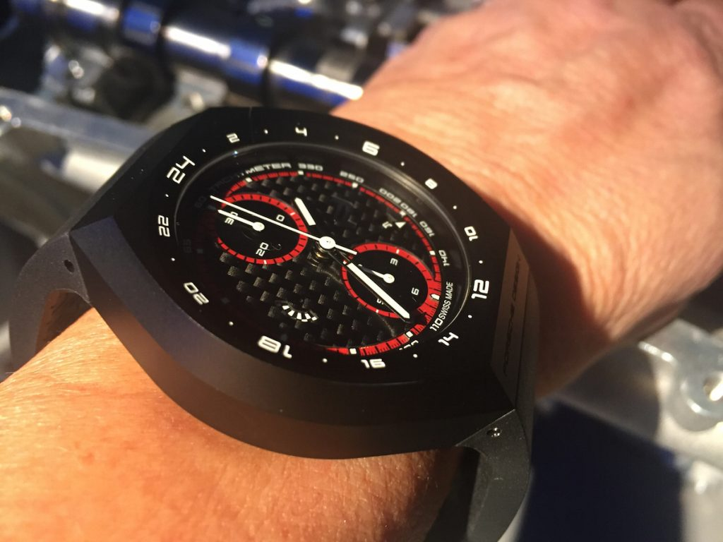 The Porsche Design Monobloc Actuator chronograph is revolutionary in design and technology.