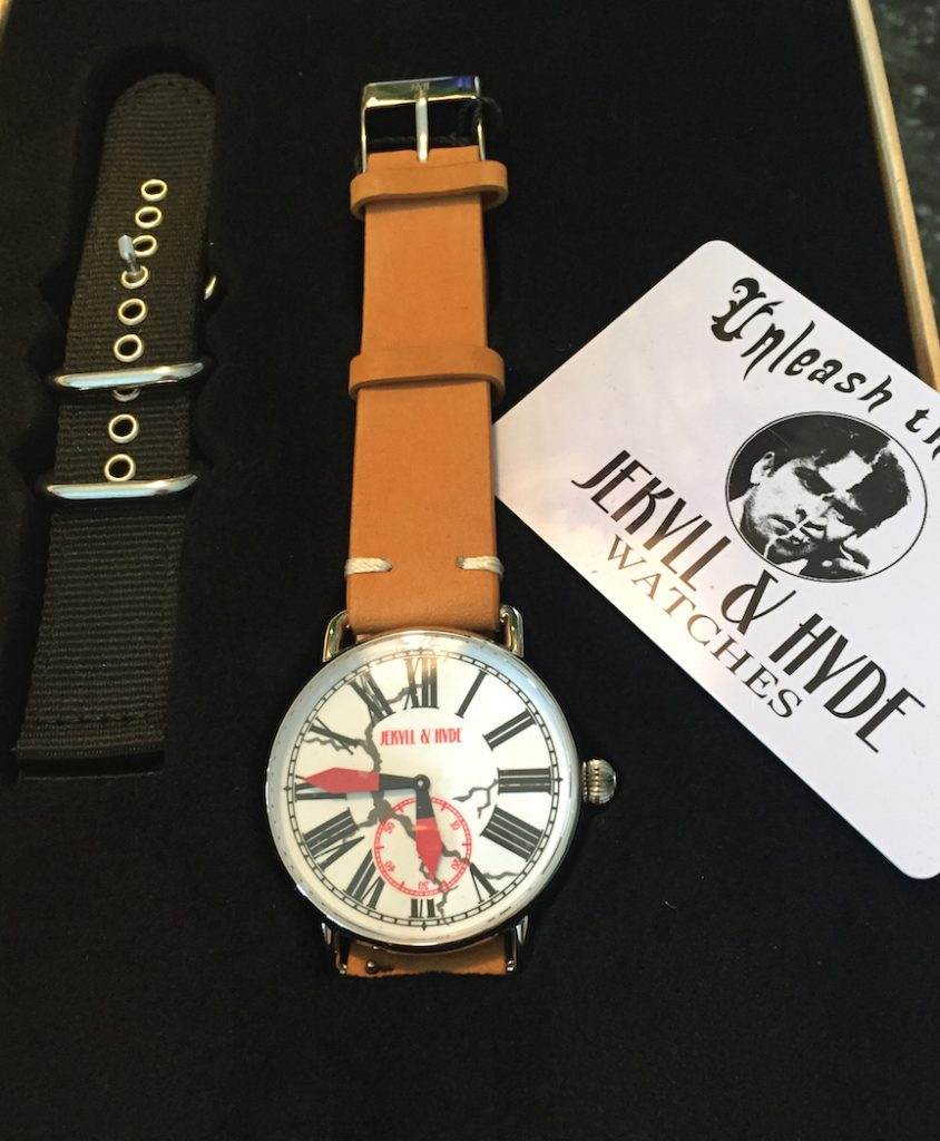Each Jekyll & Hyde watch is sold with a 100 percent refund guaranteed.