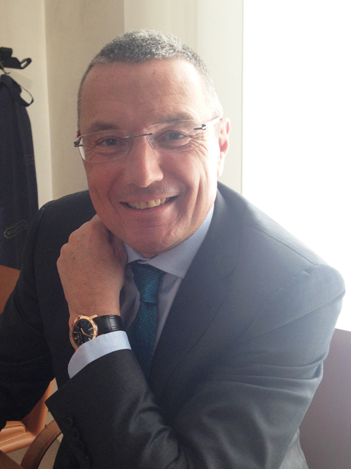 Jean-Christophe Babin, CEO of Bulgari
