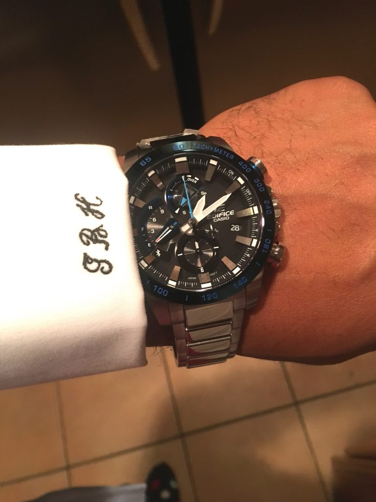 Reviewing the new Casio Edifice Smart Watch.
