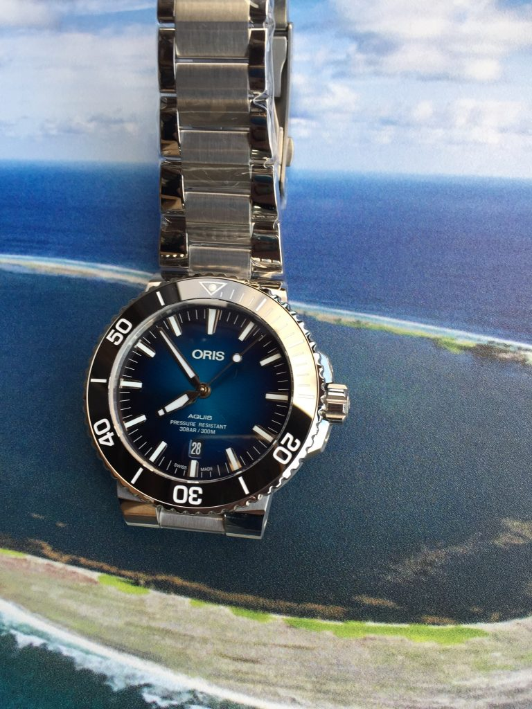 Oris Aquis Clipperton Limited Edition watch