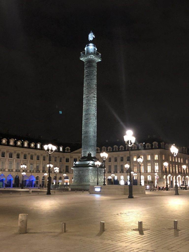 The Zenith corner store sits right on Place Vendome in Paris, with a view of the famed Column.