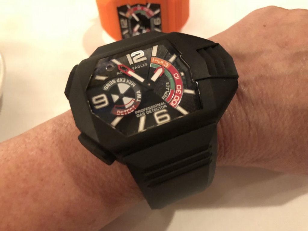 North Eagles H2S Professional Gas Detector watch