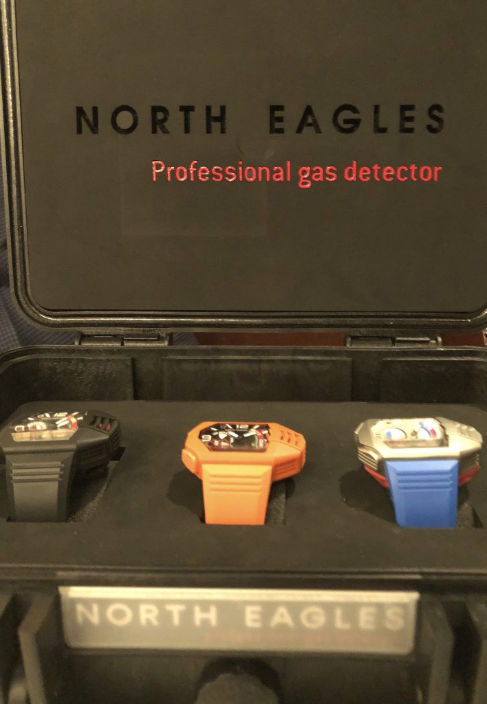 North Eagles H2S Professional Gas Detector watch retails for $995.