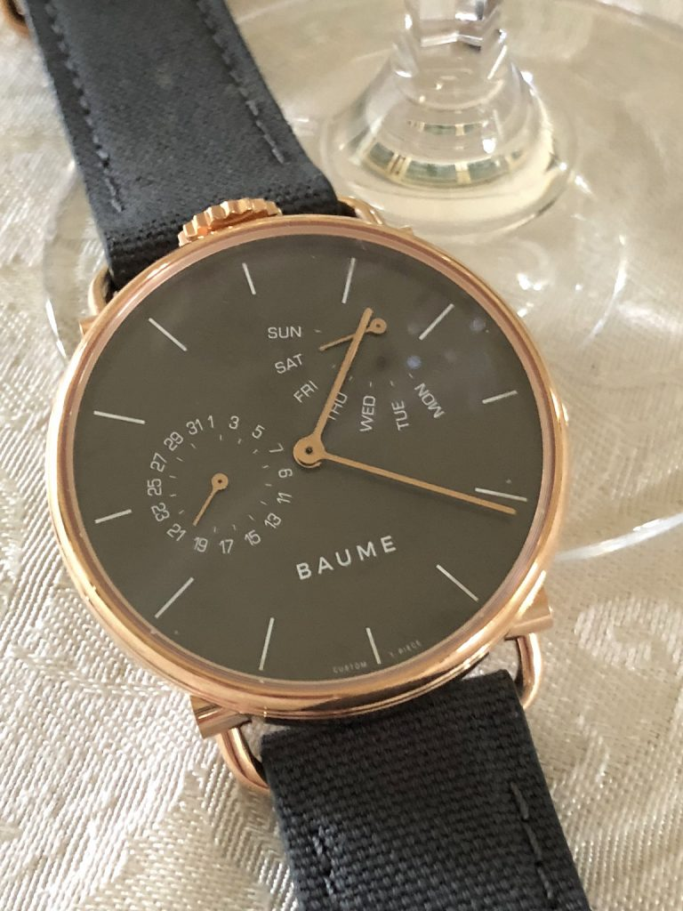 Baume watches dedicates itself to responsible watchmaking, with an eye toward conservation.