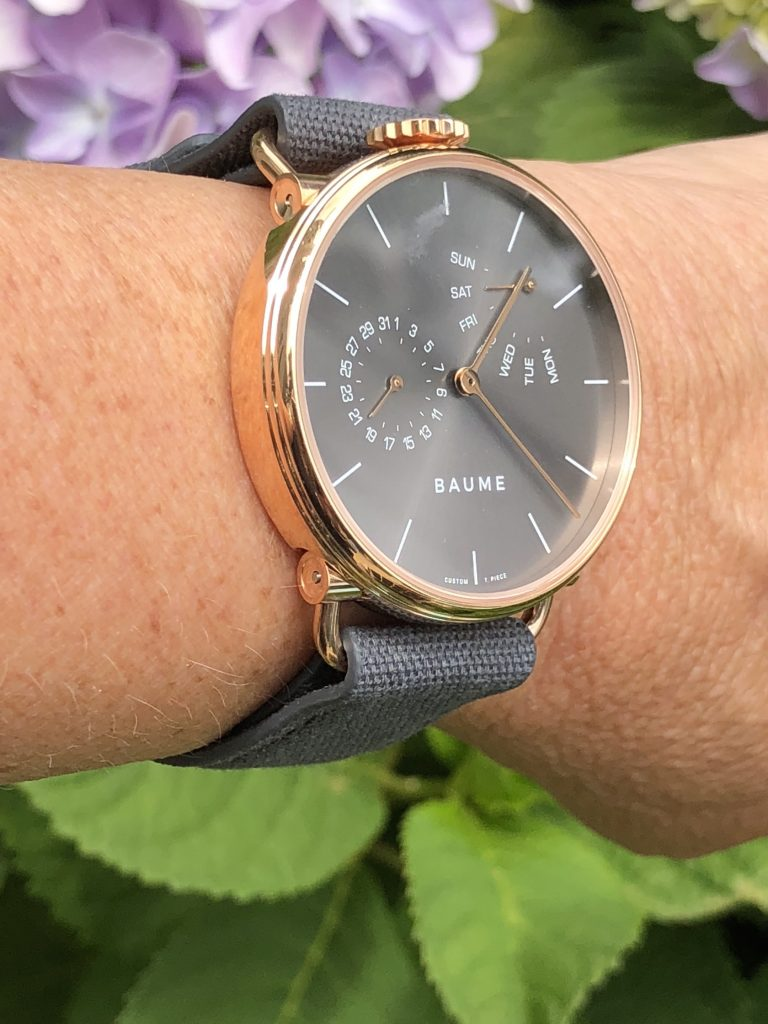 I customized my own Baume watch, see how it went.
