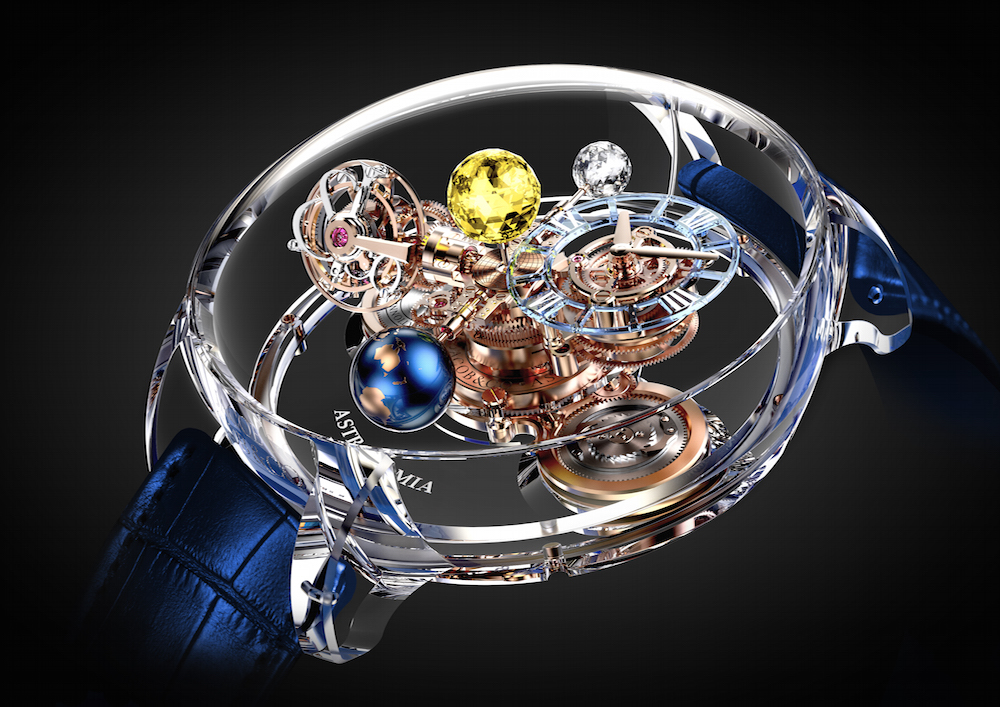 Jacob & Co. Astronomia Flawless, million-dollar watches 2017.