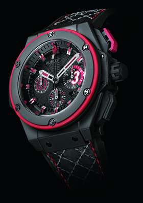 King Power Dwyane Wade Hublot watch