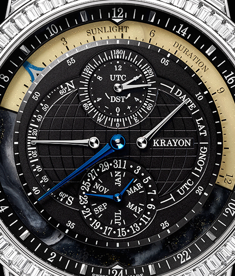Close up of the Krayon Everywhere Horizon watch.