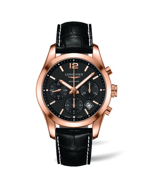 The Longines Conquest watch presented to the winning Owners.