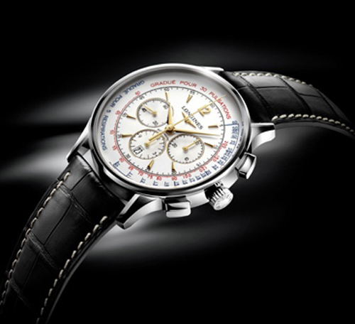 Longines Asthmometer-Pulsometer Chronograph
