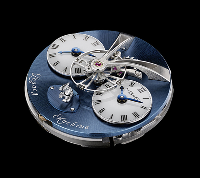 MB&F LM2 Xia Hang with world's first vertical power reserve indicator --as an alien.
