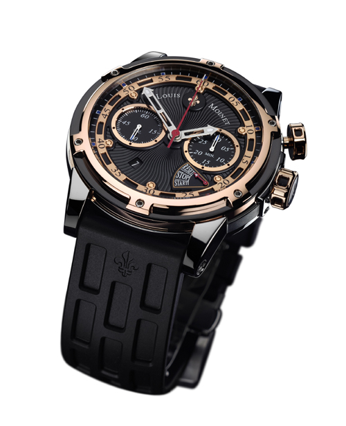 Louis Moinet  Jules Verne Instrument III monopusher chronograph