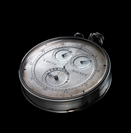 Loius Moinet Compteur de Tierces built in 1815-1816 is a true chronograph