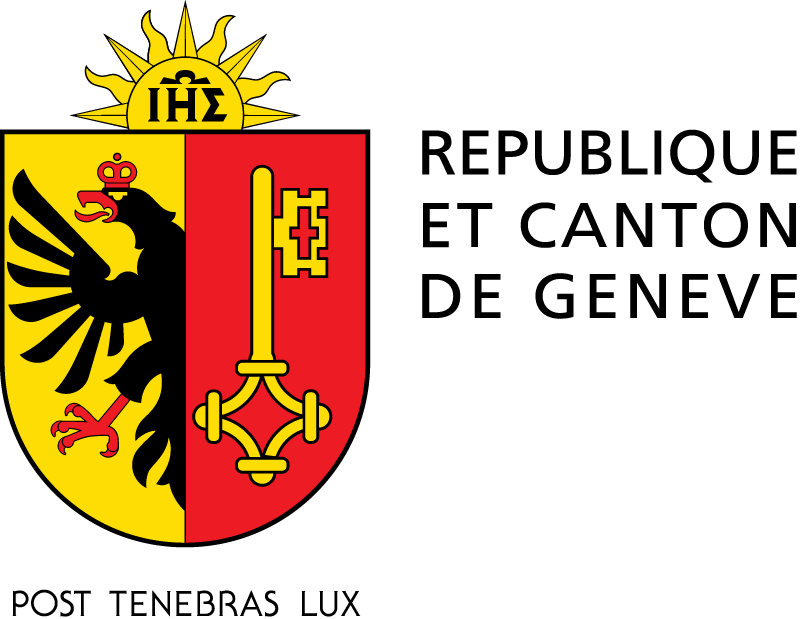 The stamp for the Geneva Seal is the seal of the Canton of Geneva.