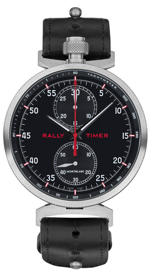 SIHH 2017: Montblanc Unveils TimeWalker 1/1000th Chronograph and Rally Timer (prices)