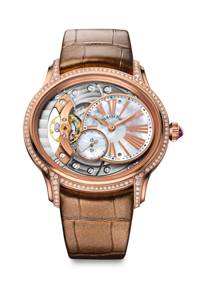 Millenary in rose gold