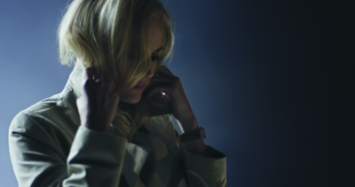 Diane Kruger in the Re-Invent Yourself film.