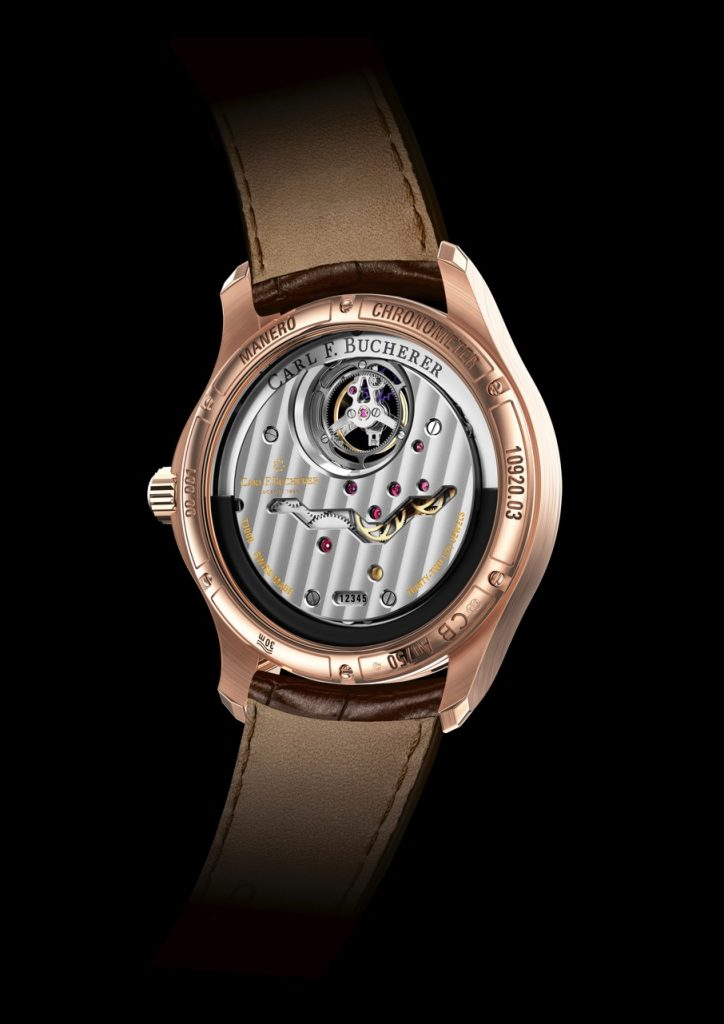 The Carl F. Bucherer Manero Tourbillon DoublePeripheral watch was several years in the making.