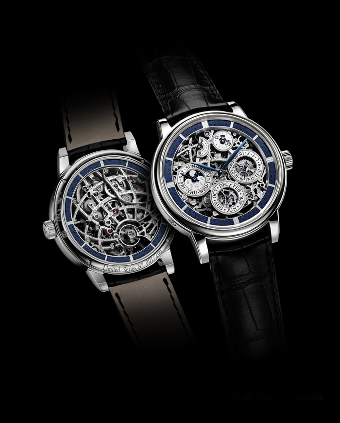 The Jaeger-LeCoultre Master Grande Tradition Perpetual Calendar 8 Days is created in a limited edition of 200 unique pieces.