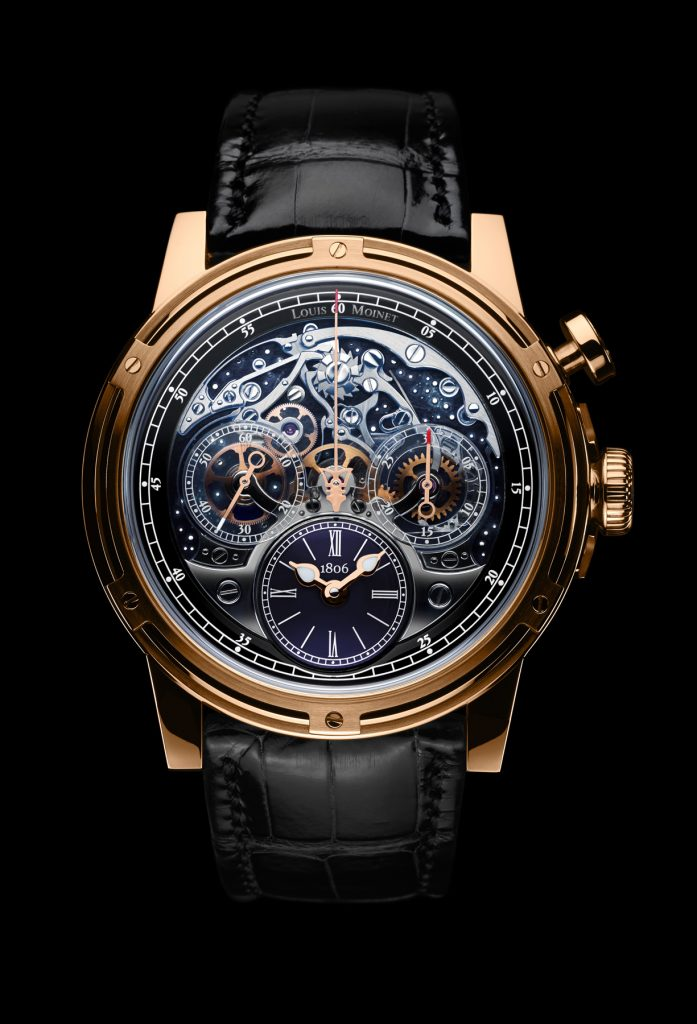 Louis Moinet Memoris chronograph watch wins the Good Design Award.