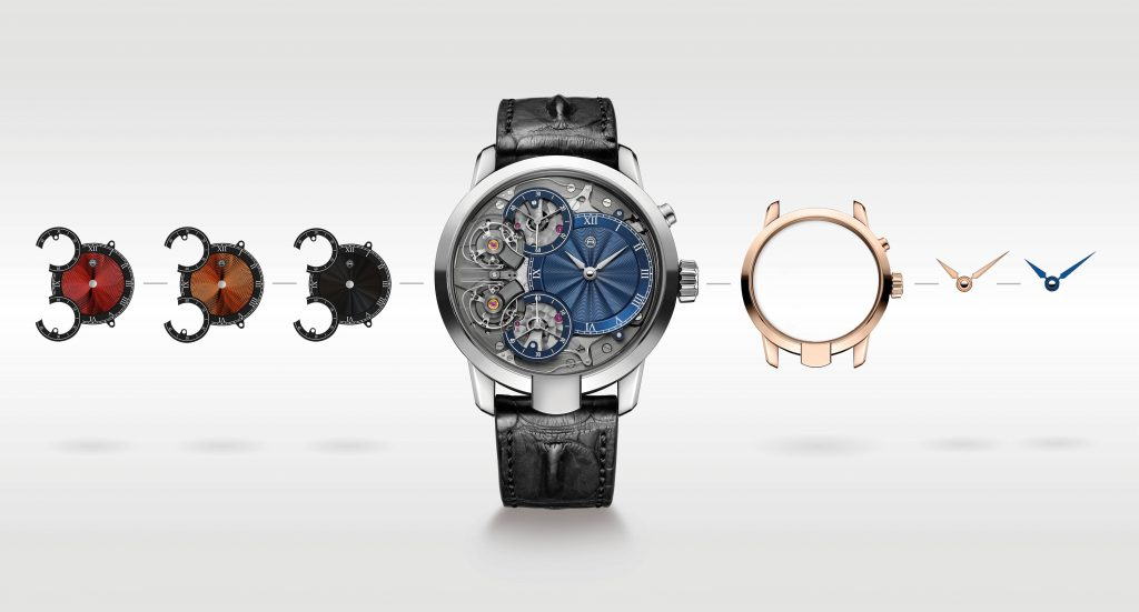 Armin Strom adds Mirrored Force Resonance watch with guilloche dial by Kari Voutilainen to configurator.