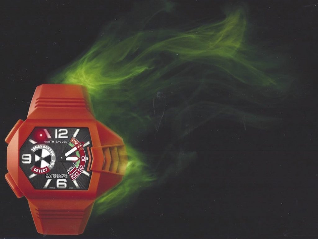 North Eagles H2S Detector watch may save your life.