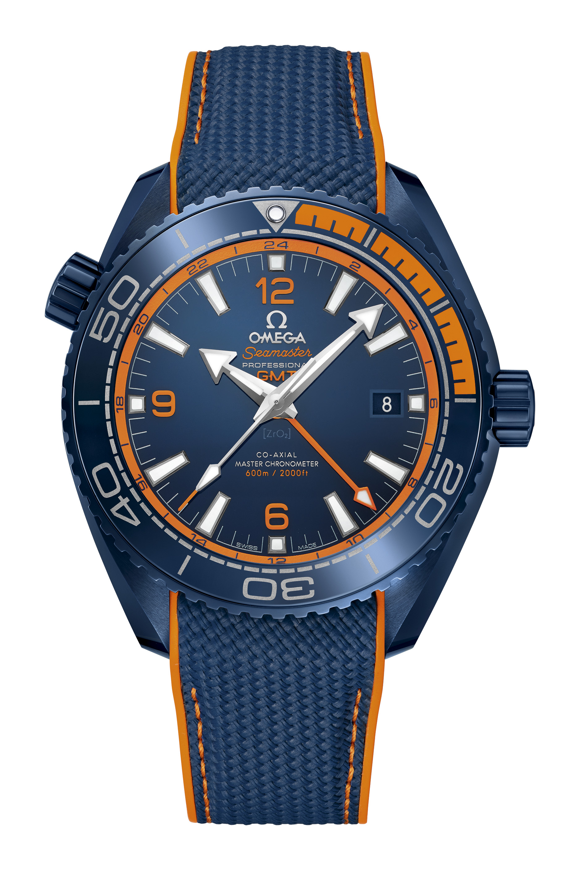 Omega Seamaster Planet Ocean GMT Master Chronometer