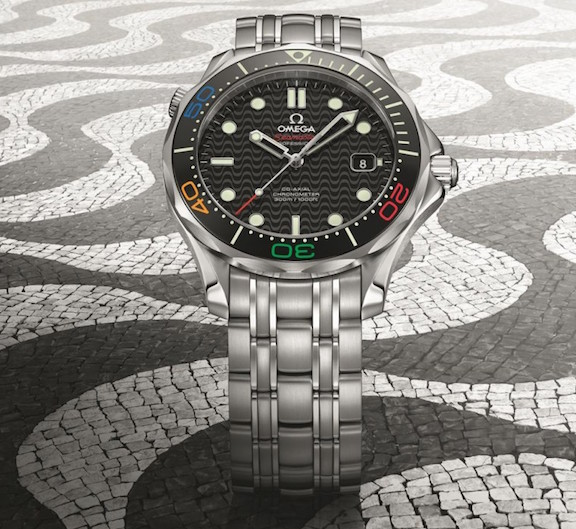 Omega Seamaster Diver 300M Rio watch