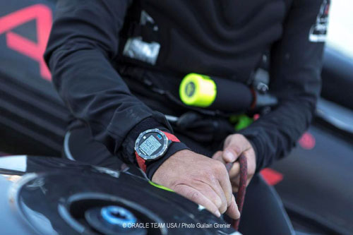 New Oracle Team USA wristwatch technology designed with TAG Heuer.