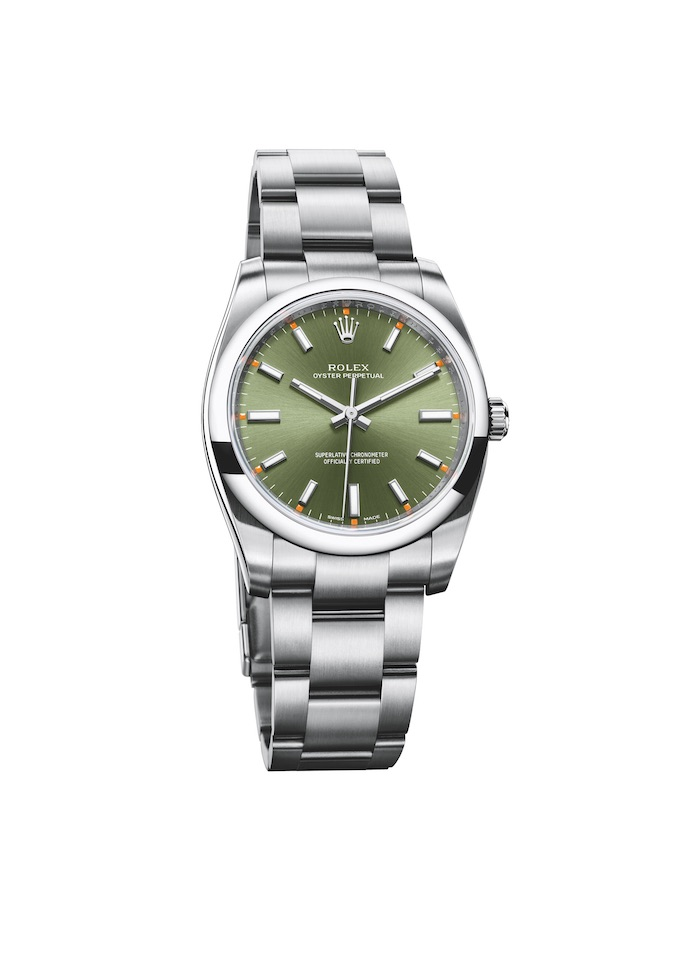 The 34mm Replica Rolex Oyster Perpetual 904L Steel
