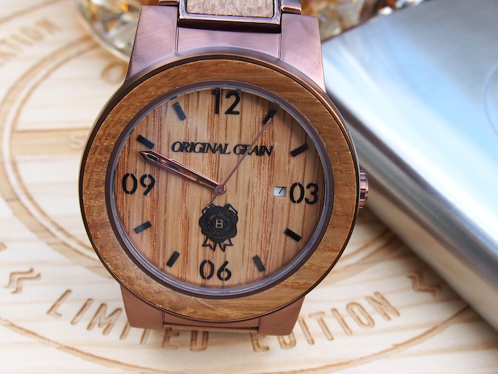 giveaway barrel steel forward fashion and image watches original grain of whiskey from primer spend matteblack amazing watch wood