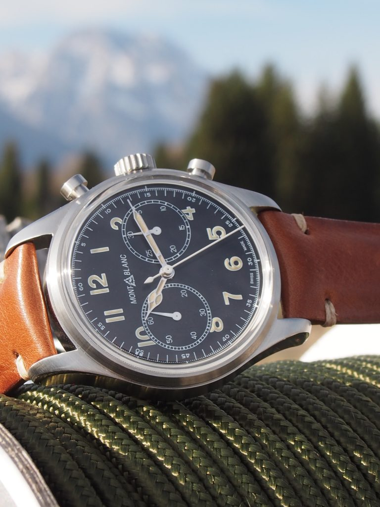 Montblanc 1858 Automatic Chronograph (Photo: R. Naas)