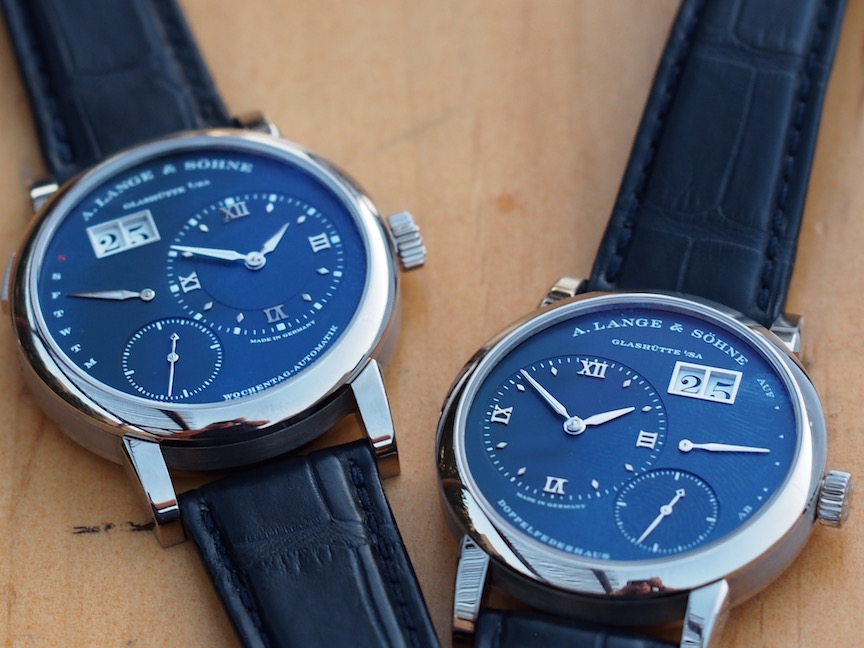 A. Lange & Sohne Lange 1 and Lange 1 Daymatic
