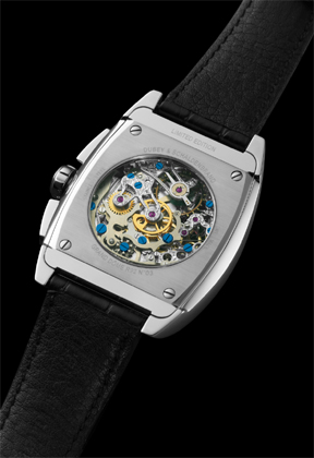 back view of the watch