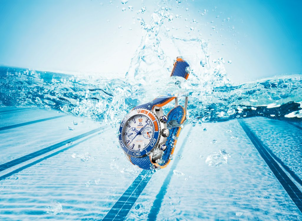 Omega Seamaster Planet Ocean Michael Phelps watch