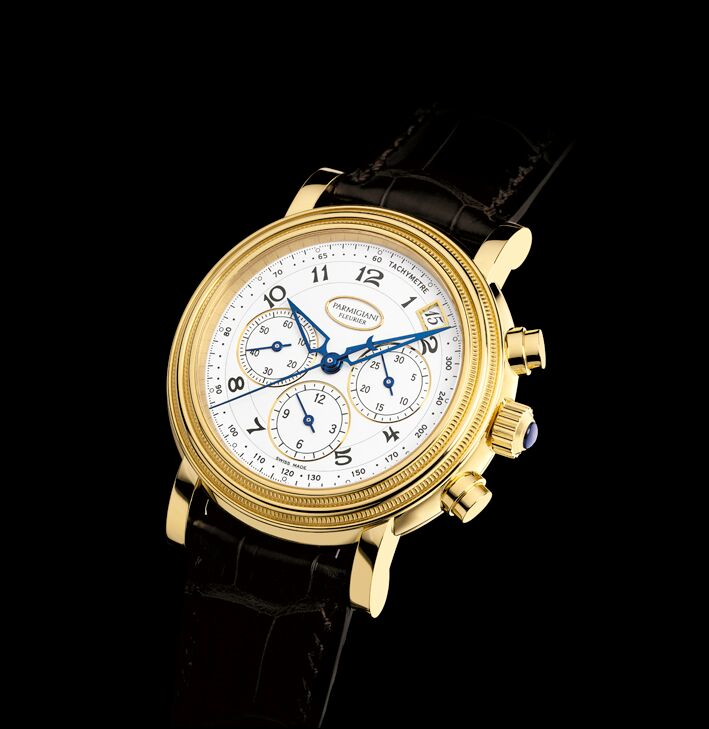 Prince Harry's father, Prince Charles wore a Parmigiani Fleurier Toric Chronograph at the wedding.