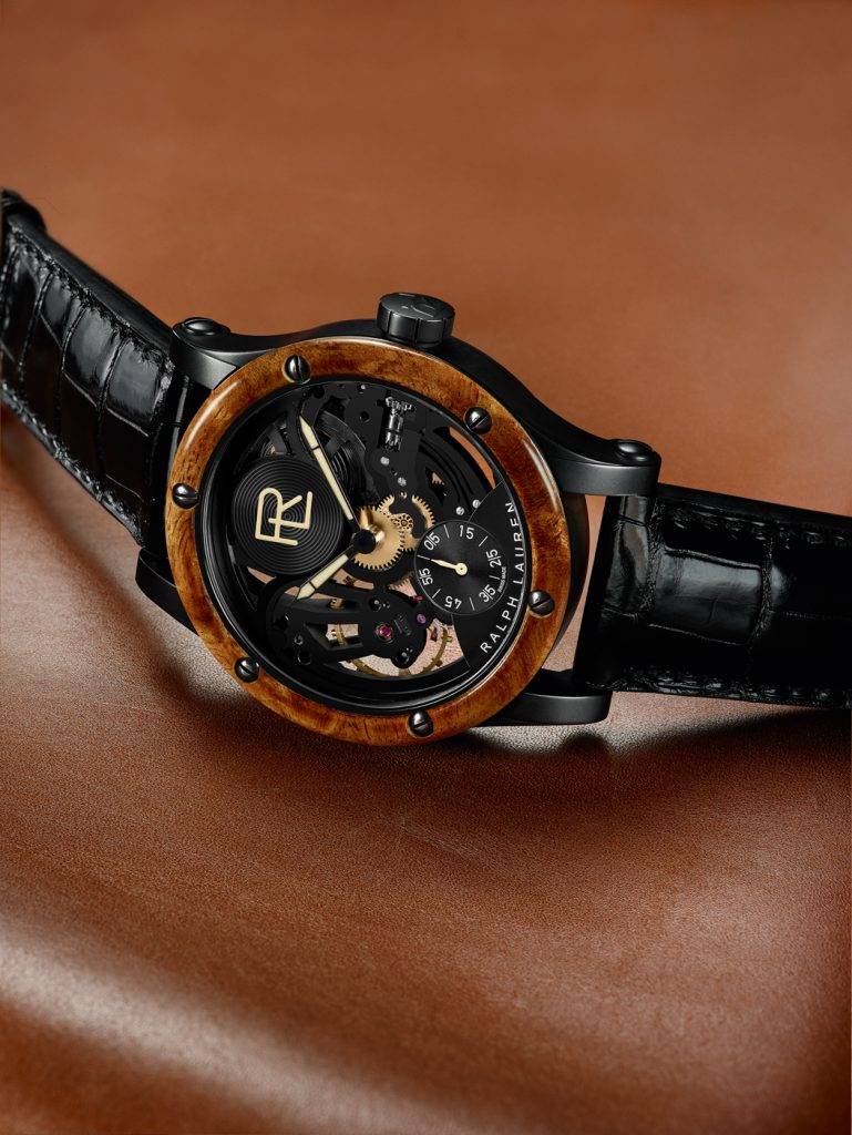 Ralph Lauren Automotive Skeleton watch.